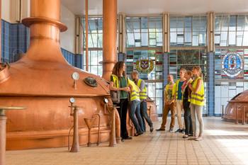 Führung im Sudhaus von der Brauerei Beck & Co