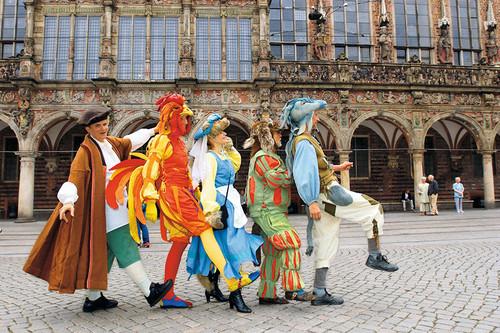 Führung mit den Bremer Stadtmusikanten