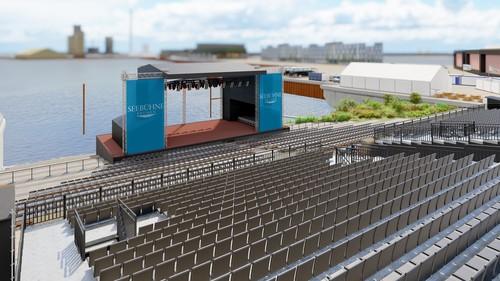 Seebühne Bremen an der Waterfront