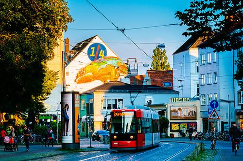 Blick auf das Ostertor, Teil des Bremer Szene-Viertels