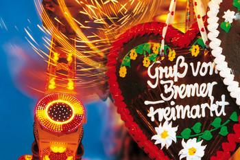 Gruß vom Bremer Freimarkt
