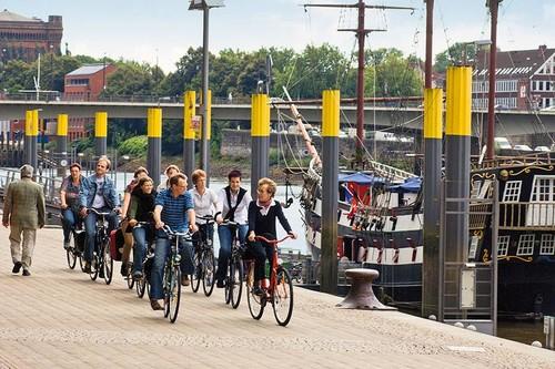 """Bremen mit dem Rad """"erfahren"""""""